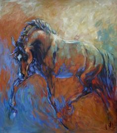 Oilpainting120 x140 by Cath Driessen