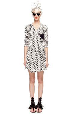 Shop Buckle Wrap Dress by J.W. Anderson Now Available on Moda Operandi