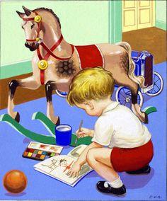 hobbi origin, abbott, artchildren paint, hobbies