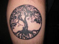 Beautiful tree of life tattoo