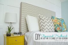 Make a Slipcovered Headboard  An Easy Way to Change Up Your Bedroom!