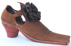 Shoe, c. 1660's