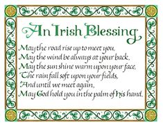 #Irish #Blessing   #Quotes #LOA #Life #Inspiration #Success #RT
