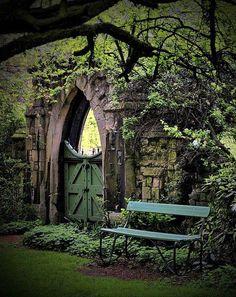 Grand garden gates