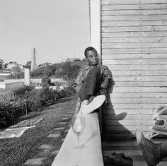 James Baldwin in Istanbul. Photo by Sedat Pakay