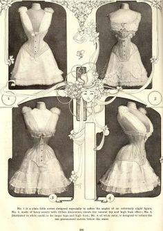 front corset, shape corset