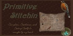 Primitive Stitchin
