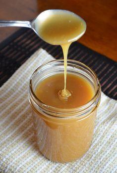 Homemade Caramel Sauce
