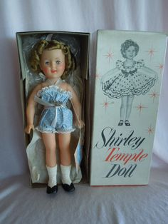 """MIB Perfect 12"""" Ideal 1957 Shirley Temple Doll"""