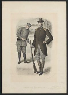 1900–1919, Plate 001. Fashion plates, mens 1880-1939. The Costume Institute Fashion Plates The Metropolitan Museum of Art, New York (b1752524x) | Some fine hunting outfits. #fashion
