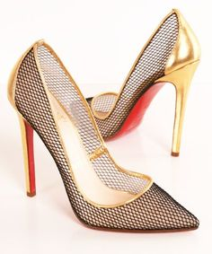 Fishnet Pumps
