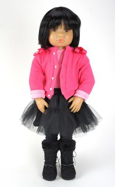 Kidz 'n' Cats Miu is now in stock. Love her short silky hair and outfit. Bright pink and black looks gorgeous! http://www.petalinadolls.co.uk/dolls/kidz-n-cats-miu-doll.htm?q=miu&search-submit=&detailed=1