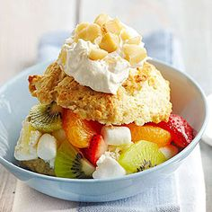 Tropical Ambrosia Shortcake (from Midwest Living)