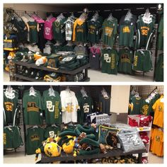 Great selection of #Baylor gear at the HEB on Wooded Acres in Waco! #SicEm (via davidkaye9 on Twitter)