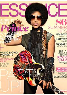 Prince covers the June 2014 cover of ESSENCE.