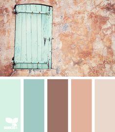 aged hues
