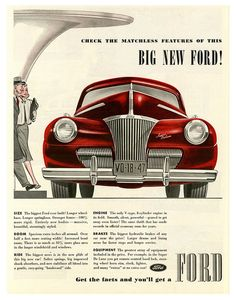 1941 Ford Ad.