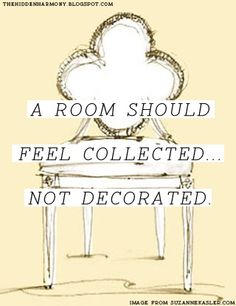 collected not decorated