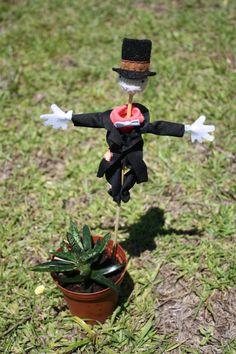 Turnip Head Scarecrow Miniature house plant decoration Howls Moving Castle. $20.75, via Etsy.