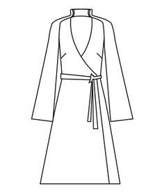 Free Kimono inspired maxi wrap dress