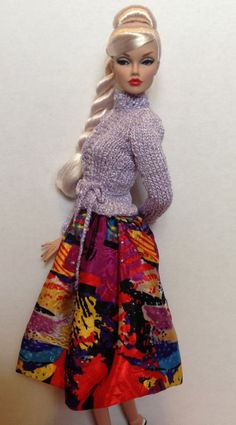 LETS GO PARTY skirt and sweater set for the by RFBdesignsbyPeggy, $30.00