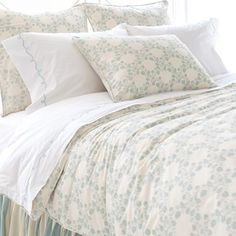 Pine Cone Hill Trellis Damask Duvet Cover Collection