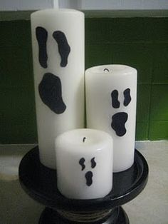 ghostly candles