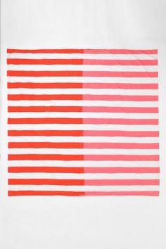 dual stripe duvet cover