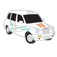 2012 Olympics London Taxi - Equestrian Dressage Pin