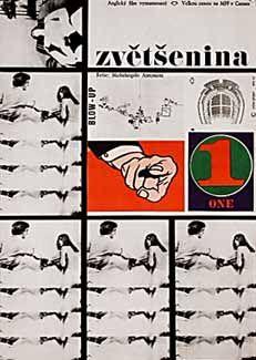 Posteritati: BLOW-UP (Blow Up) 1970s Czech 12x16