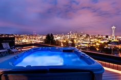 Of course the rooftop will have a hot tub as well.