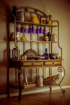 bakers rack on pinterest bakers rack decorating french