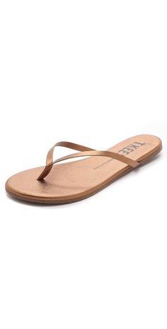 TKEES Highlighters Metallic Flip Flops