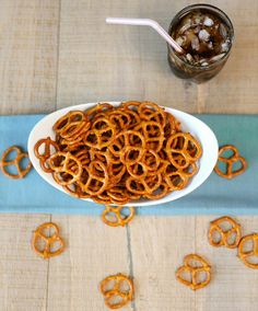 TweetI must warn you, these spicy seasoned pretzels are highly addictive. Slightly spicy and flavored with garlic and lemon, you will not be able to have just 1. The taste is similar to chex mix seasoning. My future sister-in-law Berleen brought these on a camping trip and they were a hit. We must have gone through 2 bags of these. …