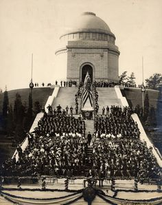 The dedication ceremony for the McKinley National Memorial, September 30, 1907