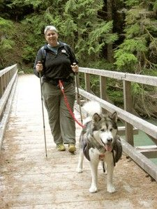 Tips for hiking with dogs to keep them happy and healthy.