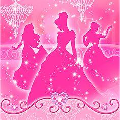 Disney Princess Royal Event Luncheon Napkins