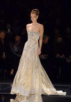 Elie Saab.  Bling dress.  Wedding dress