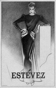 George Stavrinos Fashion Illustrations