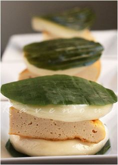 Banh Day (Vietnamese Rice Cakes)