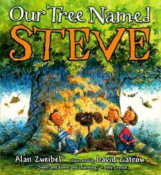 """Using """"Our Tree Named Steve"""" to teach Main Idea"""