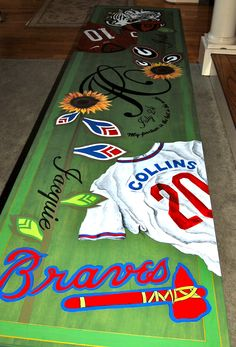 personalized beer pong table