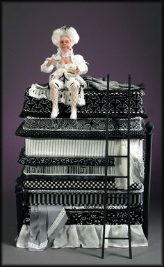 The Princess and the Pea   For the Love of Peas   1:12th Miniature scale    Creager Studios