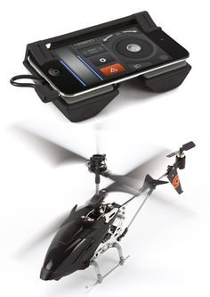 Griffin HELO TC-touch controlled helicopter ...makes your iphone 4 into the controller #iphone #gadget
