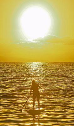 paddling.