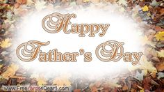 To all the dedicated, hard working Dads!