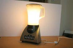Licuadora que no anda es lámpara