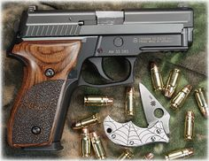 Sig Sauer P229R .357 SIG tricked out by gunsmith