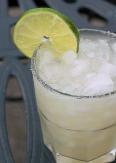 There's no margarita like a margarita made with fresh-squeezed lime juice. Period. And once you try these, I can all but guarantee you'll forever eschew margarita mix. There's simply no comparison. This classic margarita recipe combines fresh lime juice, tequila, orange liqueur, and sugar over