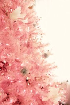 pink tree...yes please